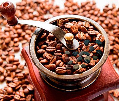 Камни в зёрнах кофе